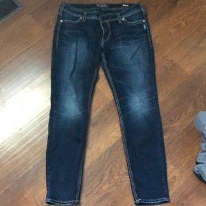 women's silver jeans Suki skinny size W34/L29